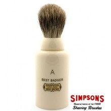 Simpsons Major Shaving Brush in Best Badger