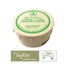Crema  da barba Taylor al Limone e Lime
