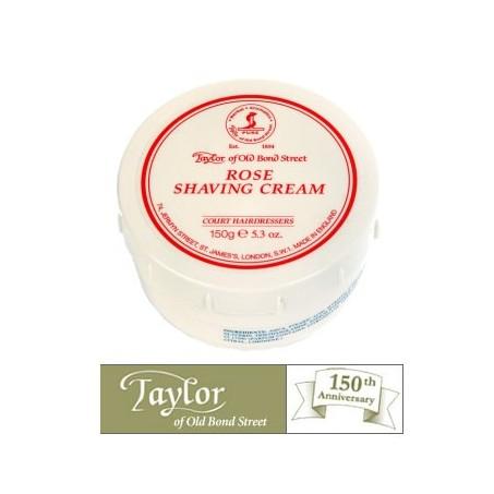 Crema  da barba Taylor alla Rosa