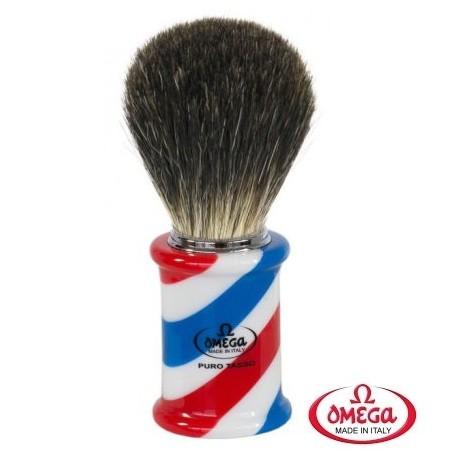 Pennello da barba in tasso Omega 6736
