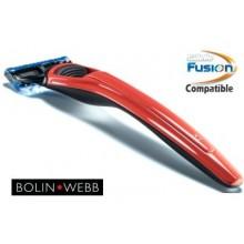 Rasoio Fusion Bolin Webb X1 Cooper Red