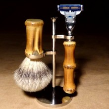 Mach3 Shaving Set Bamboo...