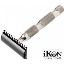 Rasoio di Sicurezza DE iKon B1 Open Comb Deluxe - Bamboo Handle