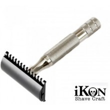 Rasoio di Sicurezza DE iKon B1 Open Comb Deluxe - Bulldog Handle 80 mm