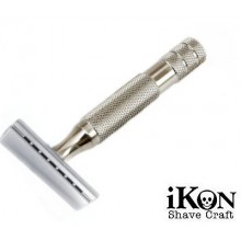 Rasoio di Sicurezza DE iKon 102 Slant Bulldog Handle 80 mm