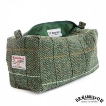 Harris Tweed Wash Bag - Country