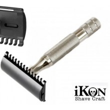 Rasoio di Sicurezza DE iKon B1 OSS - Bulldog Handle 80 mm