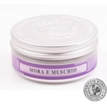 Sapone da Barba in Crema Mora e Muschio Saponificio Bignoli