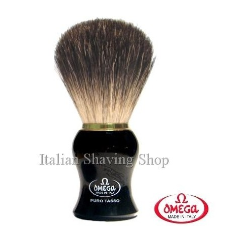 Pennello da barba in  tasso Omega 666