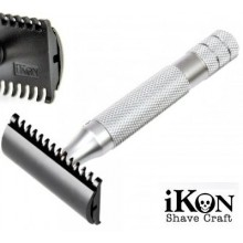 iKon B1 Open Comb Deluxe Safety Razor - Bulldog Handle 90 mm
