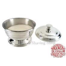 Pewter soap dish with lid - Vulfix