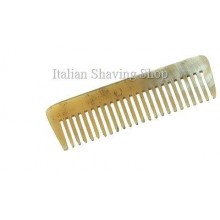 Beard and Moustache Real Horn Comb