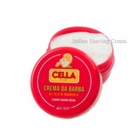 Crema da barba Cella all\'olio di mandorla