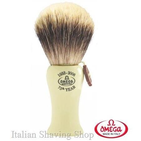 Pennello da barba in  tasso Omega 6619 Anniversario