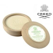Ciotola legno Creed con sapone da barba Green Irish Tweed