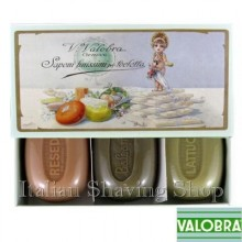 Gift box with 3 soaps Valobra