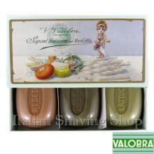 Gift box with 3 soaps Valobra
