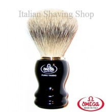 Pennello da barba in  tasso Omega 618