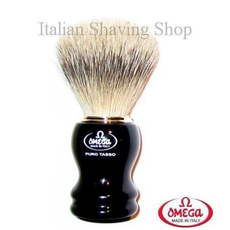 Pennello da barba in  tasso Omega 618