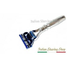 Fusion Razor with Chrome Brass short Handle