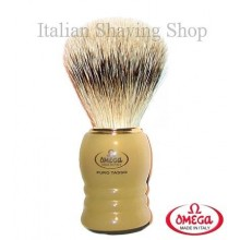 Pennello da barba in  tasso Omega 620