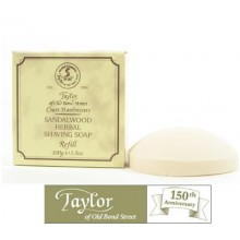 Sandalwood Shaving Soap Bowl Refill - Taylor