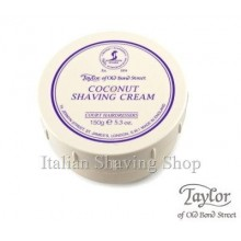Coconut Shaving Cream - Taylor