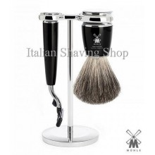 Muhle Shaving set Mach3 Black