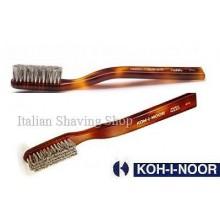 Faux Tortoise Badger Bristle Toothbrush