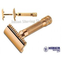 Rasoio di sicurezza DE Merkur 34G HD Gold Plated