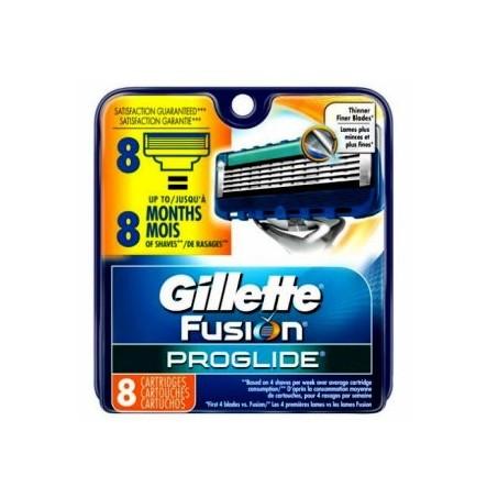 Confezione da 8 Lame Gillette Fusion ProGlide Made in USA