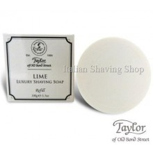 Lime Shaving Soap Bowl Refill - Taylor