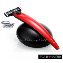 Bolin Webb R1-S Monza Red Razor and Stand Gift Set