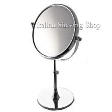 """Specchio da Tavolo \""""Lusso\"""" bifacciale x5 Ø21 Piazza"""