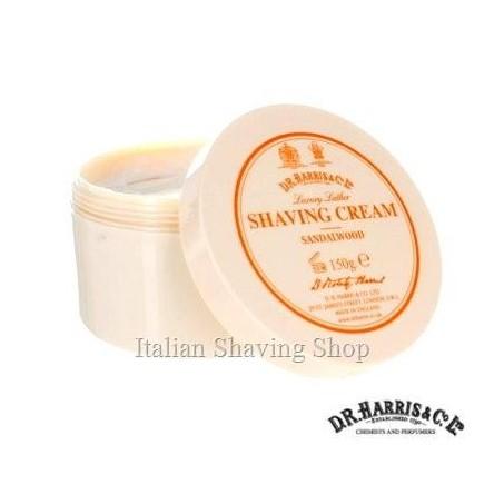 Crema da barba D.R. Harris Sandalwood 150 g