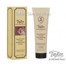 Moisturising Cream After Shave Sandalwood 75ml-Taylor