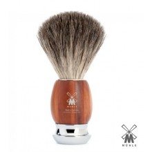 Mühle Badger Shaving Brush with plum tree wood handle
